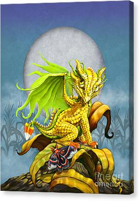 Corn Dragon Canvas Print by Stanley Morrison