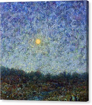 Cornbread Moon - Square Canvas Print