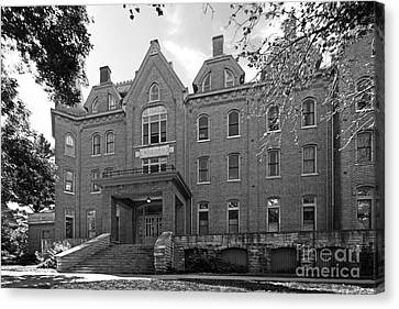 Cornell College Bowman Carter Hall Canvas Print by University Icons