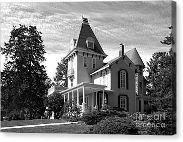 Cornell College President's House Canvas Print by University Icons