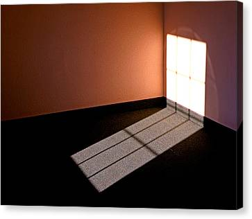 Corner Illumination Canvas Print by Christopher McKenzie