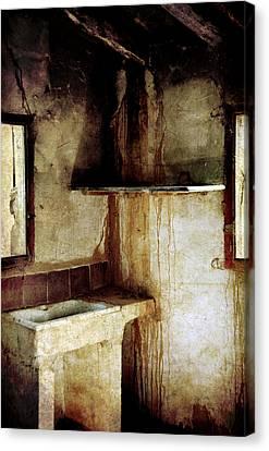 Corner Of Kitchen Canvas Print by RicardMN Photography
