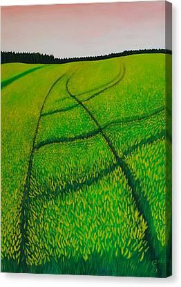 Cornfield Canvas Print by Sven Fischer