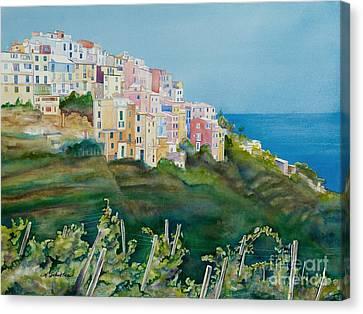 Corniglia Canvas Print