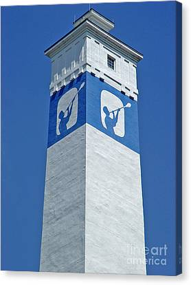 Corning Little Joe Tower 1 Canvas Print by Tom Doud