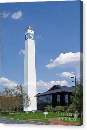 Corning Little Joe Tower 3 Canvas Print by Tom Doud