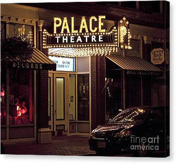 Corning Palace Theatre Canvas Print by Tom Doud