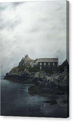 Hidden Canvas Print - Cornish Cottage by Joana Kruse