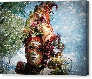 Cornucopia Canvas Print by Barbara Orenya