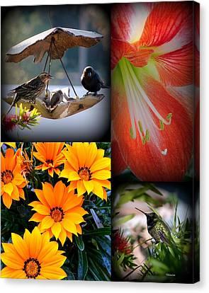 Cornucopia Garden Canvas Print