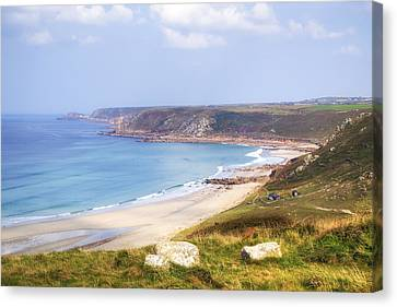 Cornwall - Sennen Cove Canvas Print