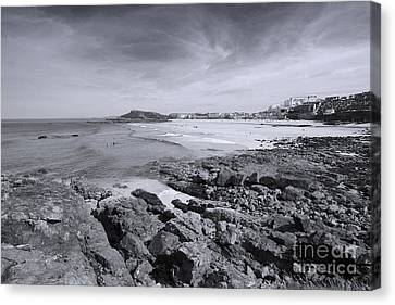 Cornwall Coastline 2 Canvas Print
