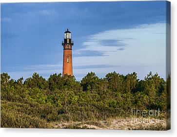 Corolla Lighthouse Canvas Print by John Greim