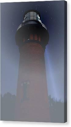 Corolla Lighthouse Canvas Print