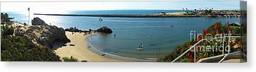 Corona Del Mar State Beach Canvas Print by Gregory Dyer