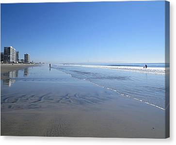 Coronado Beach Canvas Print