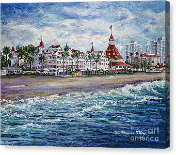 Coronado Shores Canvas Print