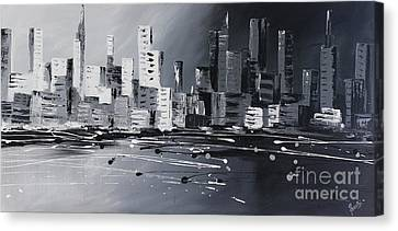 Corporate City Canvas Print by Preethi Mathi