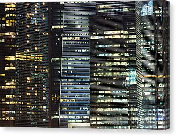 Corporate Singapore Canvas Print by Didier Marti