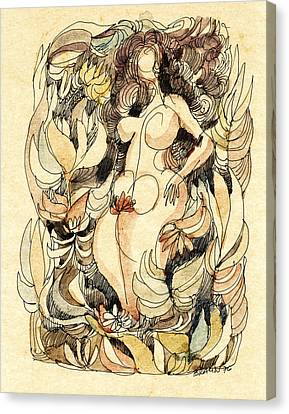 Corpulence Canvas Print by Horst Braun