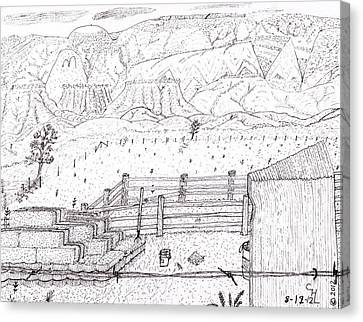 Corral 6 Canvas Print
