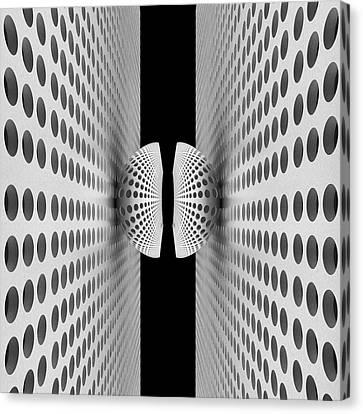 Corridor Canvas Print - Corridor Of Ball by Antonyus Bunjamin (abe)
