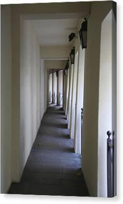 Corridor Canvas Print by Randi Shenkman