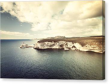 Corsica Winter Canvas Print by Philippe Sainte-Laudy