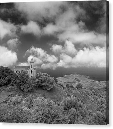 Corsican Church Canvas Print