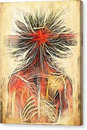 Cortex Man Canvas Print