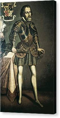 Cort�s, Hern�n 1485-1547. Painting Canvas Print by Everett