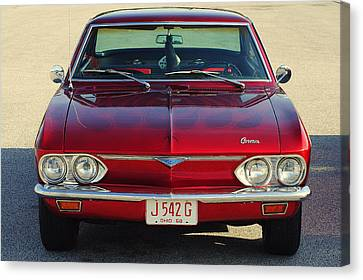 Corvair Canvas Print by Frozen in Time Fine Art Photography