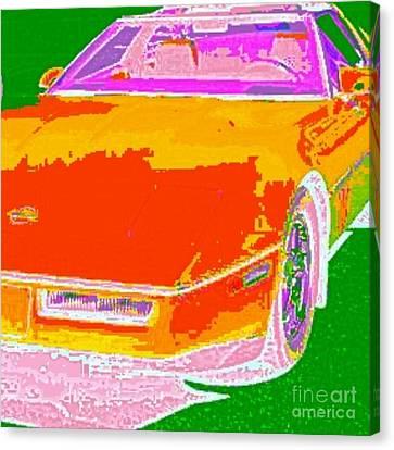 Corvette Dreams Canvas Print by James Eye