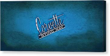 Sting Ray Canvas Print - Corvette Sting Ray by Mark Rogan