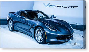Corvette Stingray Canvas Print