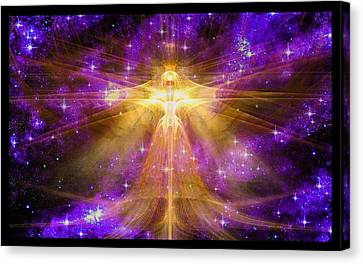 Cosmic Angel Canvas Print