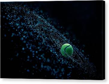 Cosmic Ball Canvas Print by Joe Conroy