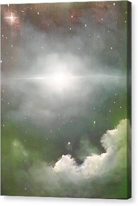 Cosmic Blast Canvas Print by Ricky Haug