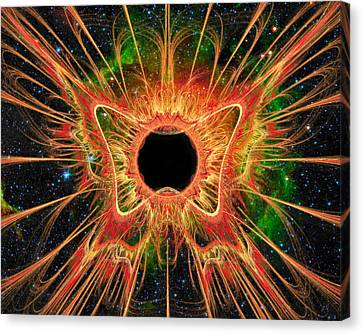 Cosmic Butterfly Phoenix Canvas Print