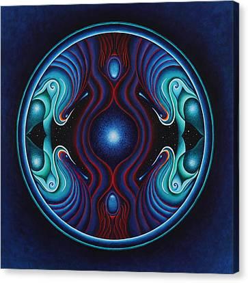 Cosmic Conception Canvas Print by Erik Grind