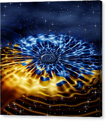 Cosmic Confection Canvas Print by Wendy J St Christopher