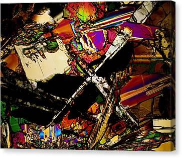 Cosmic Cross Canvas Print