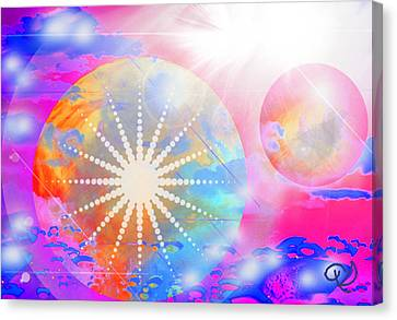 Cosmic Delight Canvas Print