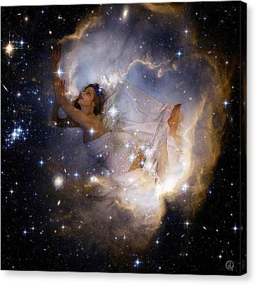 Cosmic Dream Canvas Print by Gun Legler