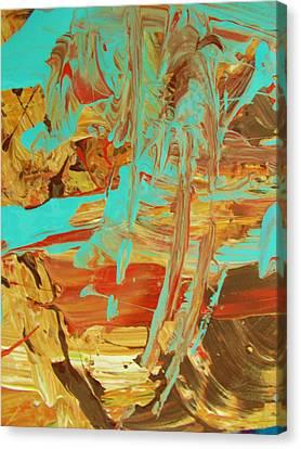 Cosmic Energy Canvas Print by Artist Ai