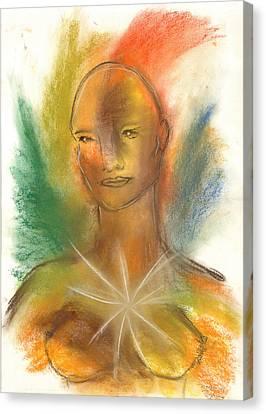 Cosmic Feminine Canvas Print