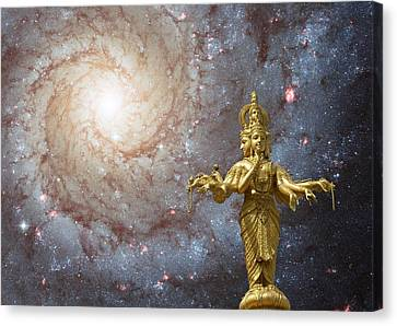 Cosmic Hindu Divinity Canvas Print by Gregory Smith