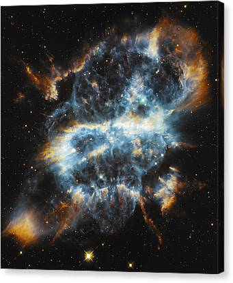 Cosmic Infinity Canvas Print by Jennifer Rondinelli Reilly - Fine Art Photography