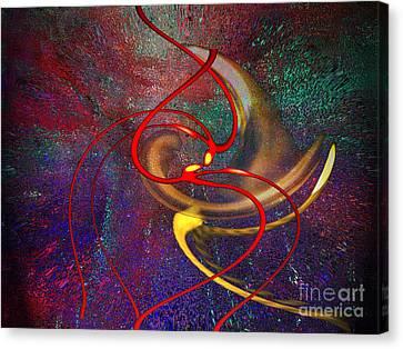 Cosmic Kiss Canvas Print