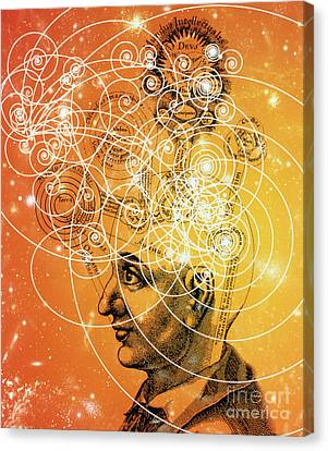 Cosmic Mind Canvas Print by M. Kulyk